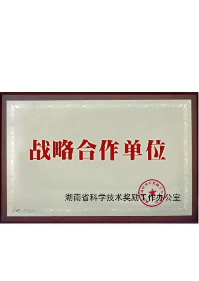 湖南省科学技术办公司战略合作伙伴